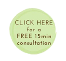 Green Button with text: Click Here for a free 15 Minute Sleep Consultation